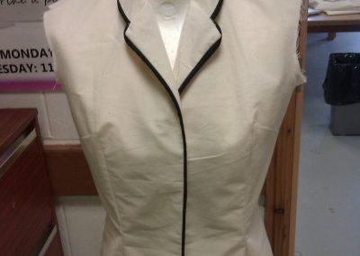 Tailored waistcoat toile